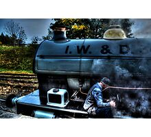 I W & D 34  Portbury Locomotive Photographic Print