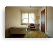 Stains by your bedside  Canvas Print