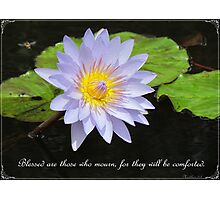 Matthew 5:4 Photographic Print
