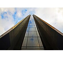 GLASS WAY TO THE TOP OF THE SKY Photographic Print