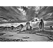 Ancient Ruins of Steilacoom Photographic Print