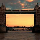Tower Bridge @ Sunset by Dean Messenger