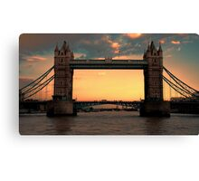 Tower Bridge @ Sunset Canvas Print