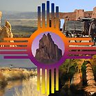 New Mexico Collage by Mitchell Tillison