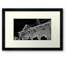 A Charley Brown Storm Chase  Framed Print