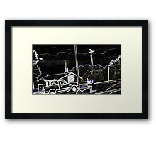 A Charley Brown Storm Chase 5 Framed Print