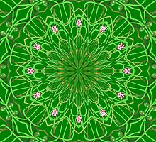 Kaleido In Green by WeeZie