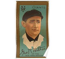Benjamin K Edwards Collection George Wiltse New York Giants baseball card portrait Poster