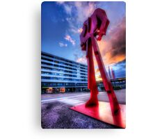 The Red Overlord Canvas Print