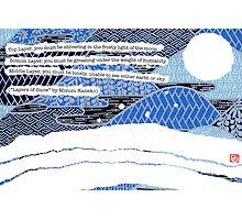 Layers of Snow  Photographic Print