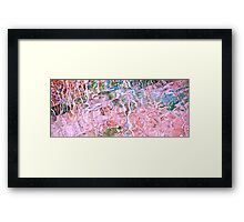 Turquoise Dreams B Framed Print