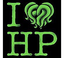 I HEART HP LOVECRAFT Photographic Print