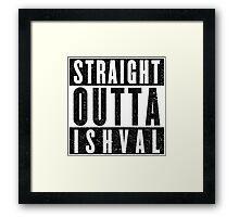 Ishvalan with Attitude Framed Print