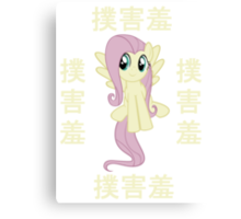 Fluttershy In China Canvas Print