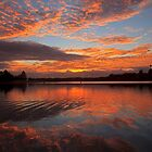Narrabeen Lake Sunrise by Doug Cliff
