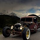 1938 Ford Rat Rod Pickup Truck  by TeeMack
