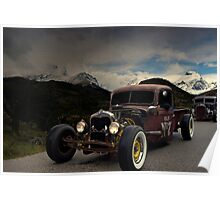 1938 Ford Rat Rod Pickup Truck  Poster