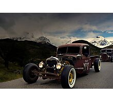 1938 Ford Rat Rod Pickup Truck  Photographic Print