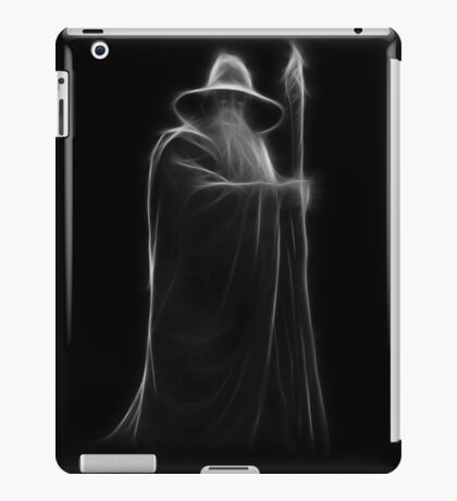 Neon Wizard iPad Case/Skin