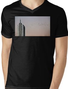 Migration Mens V-Neck T-Shirt