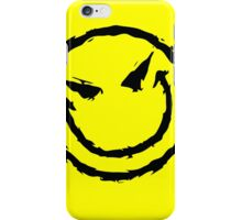 Big funny face.YELLOW iPhone Case/Skin