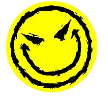 Big funny face.YELLOW Photographic Print