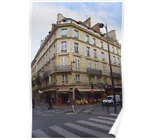A Paris Corner Poster