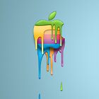Melting Apple by Dancas