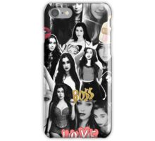 Lauren Jauregui From Fifth Harmony Collage iPhone Case/Skin