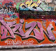 Tags. Hosier Lane. by John Sharp