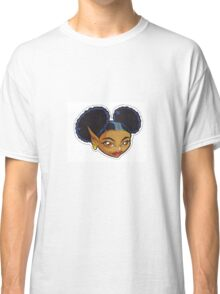 KINFfolkes-AFRO PUFF fairy Classic T-Shirt