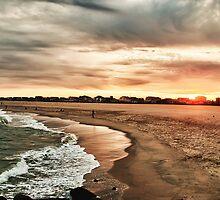 Golden Sunset by Ashok Mani