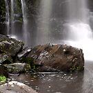 Cascading water. Phantom Falls. by John Sharp