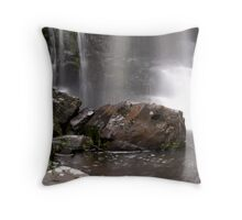 Cascading water. Phantom Falls. Throw Pillow