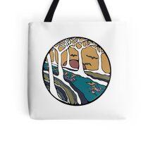 Nature Inspired Circular Design Tote Bag