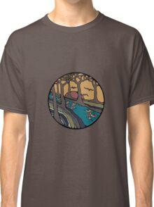 Nature Inspired Circular Design Classic T-Shirt