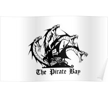 The pirate bay. HACKER Poster