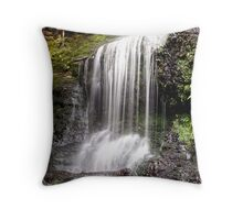 Henderson Falls. The Otways. Throw Pillow