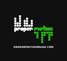 Proper Motion Merch version 33 Jan 2012 w/ text propermotionmusic.com Hoodie