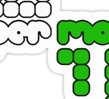 Proper Motion Merch version 33 Jan 2012 w/ text propermotionmusic.com Sticker