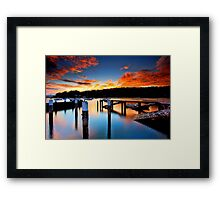 Balmoral Sunrise Framed Print