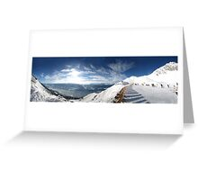 Innsbruck Alps Greeting Card