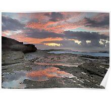 Clovelly Sunrise Poster