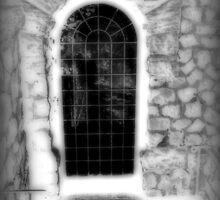 Mystical Portal, Garden Door at Kips Castle by Jane Neill-Hancock