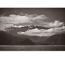 ~ land of the long white cloud ~ Photographic Print