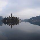 Lake Bled by David Ward
