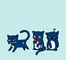 Tardis Cats and Sonic Devices by MoonyIsMoony