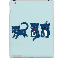 Tardis Cats and Sonic Devices iPad Case/Skin