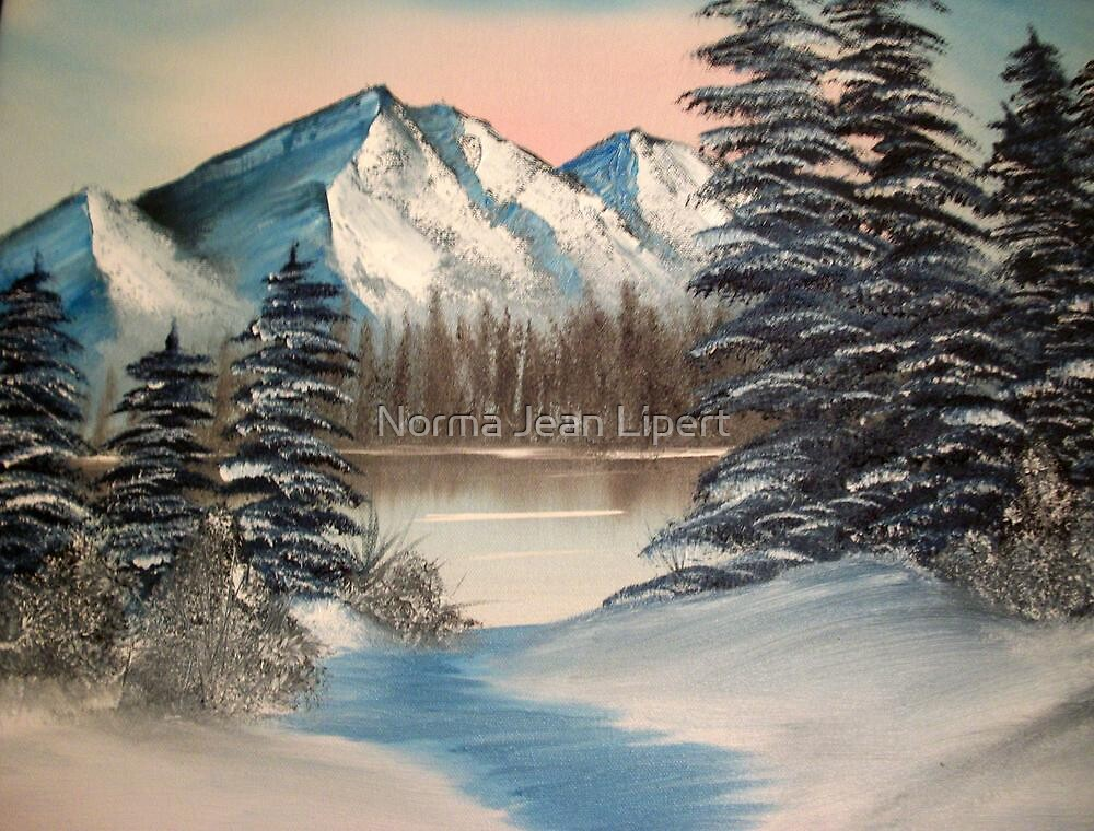 A Winter Scene by Norma Jean Lipert
