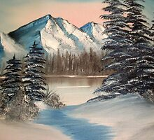 A Winter Scene by Norma Jean Lipert